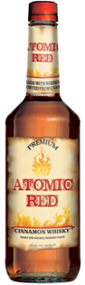 Chymes Whisky Cinnamon Atomic Red 750ml